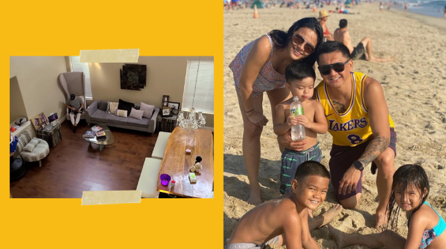 LJ Moreno, Jimmy Alapag Give A Tour Of Their Two-Story Home In The States