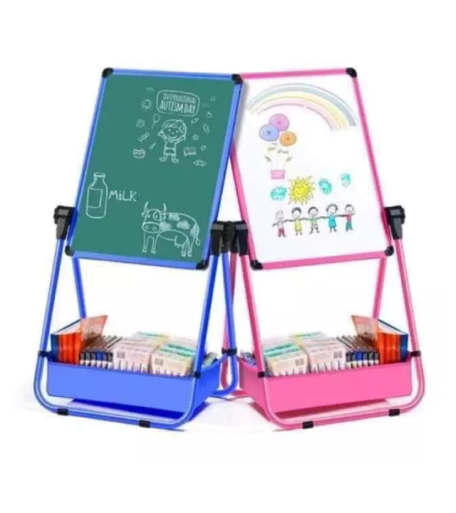 reversible chalkboard and whiteboard
