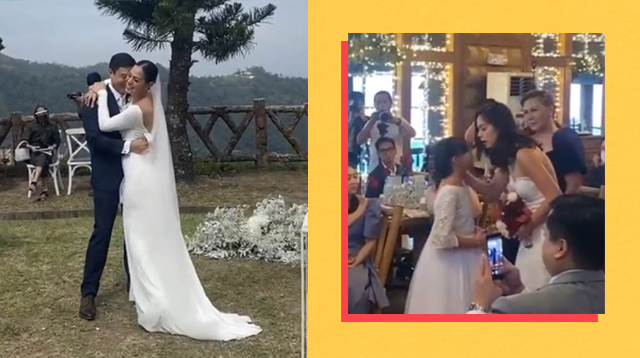 Bettinna Carlos, Mikki Eduardo Exchange 'I Dos' In Intimate Wedding Ceremony