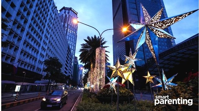 ayala avenue makati christmas lights