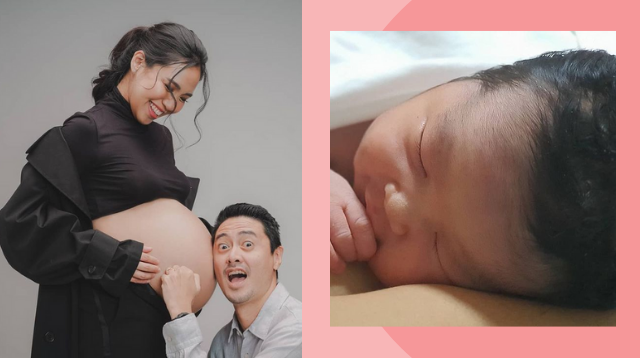 Aicelle Santos Gives Birth To First Baby!