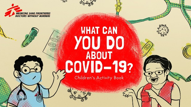 Doctors Without Borders' Activity Book Explains COVID-19 In Puzzles, Mazes, And More
