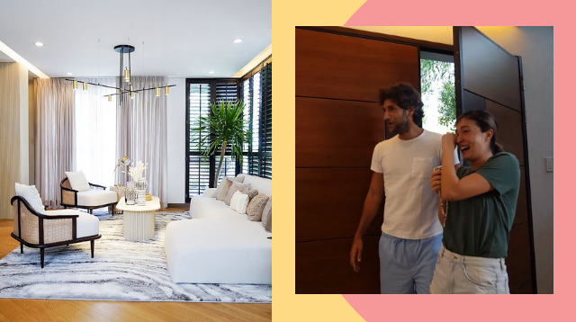 Solenn And Nico Bolzico's Beautiful, Minimalist Living Room Is Baby-Friendly, Too!