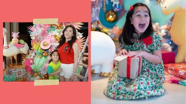 Vicki Belo And Scarlet Snow Put Up Christmas Tree Using Last Year's Decorations!