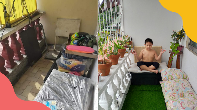 Mom Transformed Her 'Sampayan' Into A Relaxing 'Tambayan' For Only P2,000