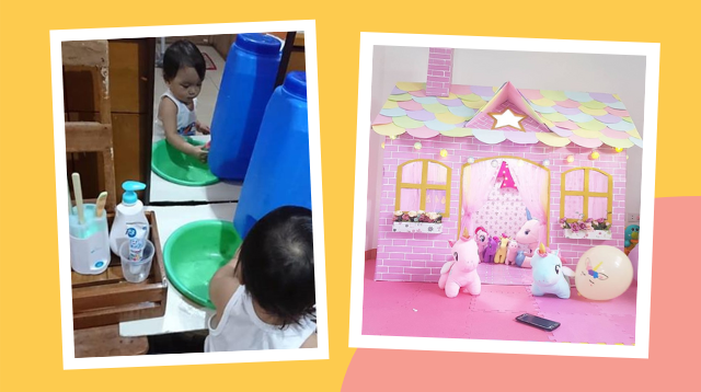 Self-Care Station, Unicorn Playhouse, And More! This Year's Best #GalingNiMommy Projects