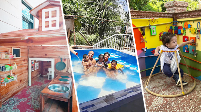 DIY Pools And A Giant Activity Board And Playhouse! 5 Kakabilib #GalingNiDaddy Projects