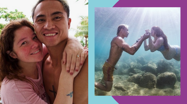 Andi Eigenmann And Philmar Alipayo's Underwater Engagement Photoshoot Looks Magical