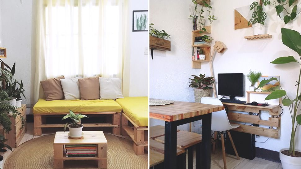 This Homeowner's 40sqm Home In Cavite Is Filled With DIY Furniture