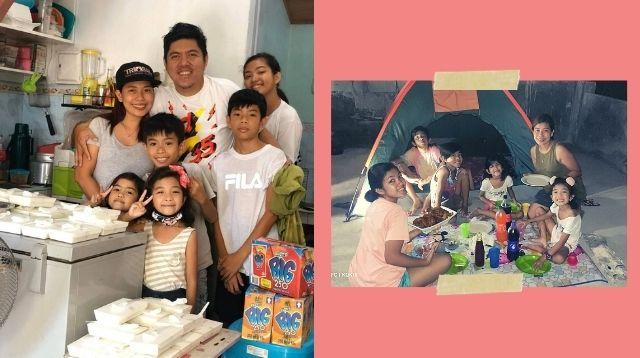 Paano Kinaya Ng Isang Pamilya Na May 5 Anak Ang Halos 9 Buwan Na Quarantine?