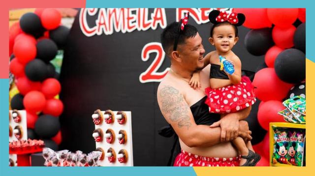 Viral Ang Daddy Na Ito Dahil Sa Kakaibang Twinning Nila Ng Anak Niya