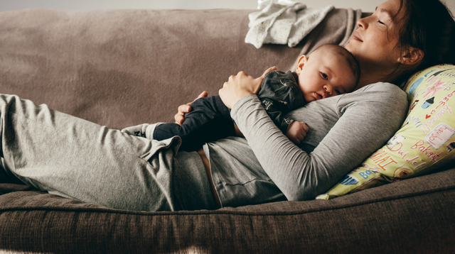 To The Mom Who Is Too Tired, It's Okay To Rest And Feel Lazy