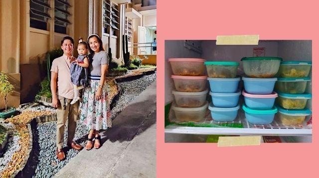 Saludo Si 'Full-Time Dad' Kay Misis Sa Paghanda Ng Pagkain Ni Baby Bago Pumasok