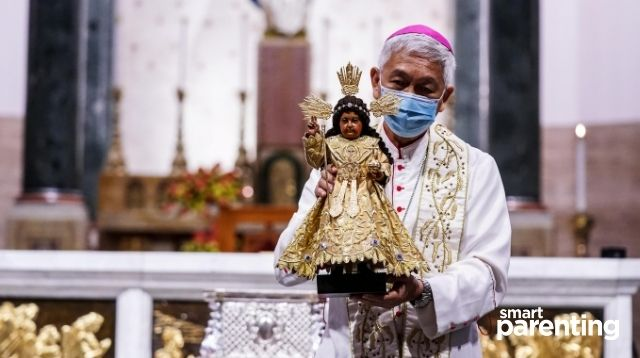 PHOTOS: New Image Of Sto. Nino de Pandacan Holds A Special Relic