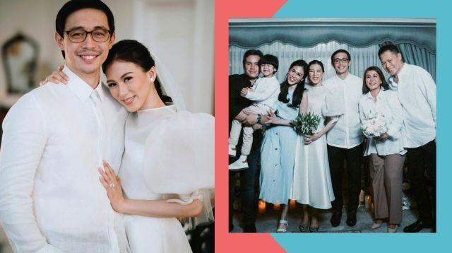 Tunay Na Intimate Family Gathering Ang Kasalang Alex Gonzaga at Mikee Morada