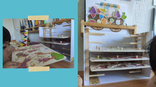 We Found A #GalingNiMommy Hack To Keep Your Toddler's Puzzles Organized