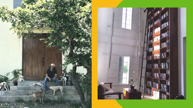 Cagayan Valley Farmer's Home Library Is About Half As Tall As A Telephone Pole!