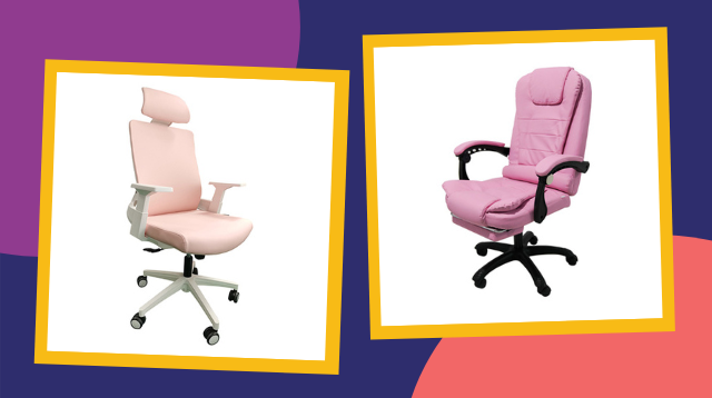 You Can Get These Pretty Pink Office Chairs For Less Than P5,000