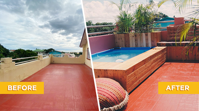 Family Transforms 'Sampayan' Into A Bali-Inspired Oasis With A Non-Inflatable Pool