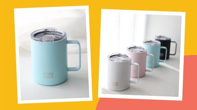 Keep Your Coffee Hot OR Cold For Hours With These Pretty Mugs!