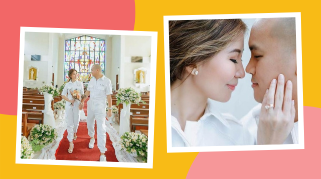 Dra. Ging Zamora And Cardiologist Sonny Abraham Tie The Knot In Matching PPEs
