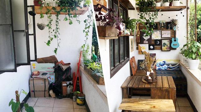 Mom Transforms Veranda Into A Tiny Coffee Shop For Only P5,000!