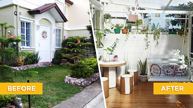 Couple Transforms Garden Into A Cozy Hangout Spot For Their Kids