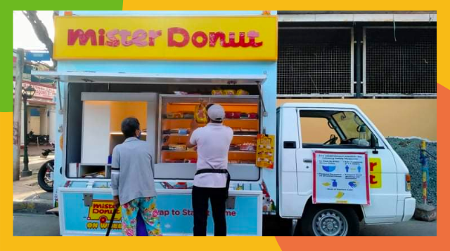You Can Now Franchise 'Mister Donut On Wheels'! How To Do It And How Much You'll Need