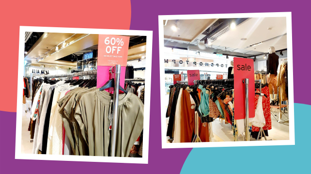 Topshop At Megamall Has Buy-One-Get-One Deals Plus 60-70% Discounts On Selected Items