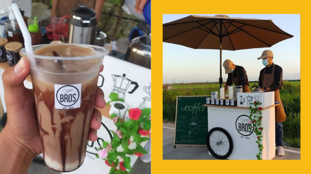 P900 Lang Ang Puhunan! This Coffee Stand Along Candaba Road Sells Up to 100 Cups A Day