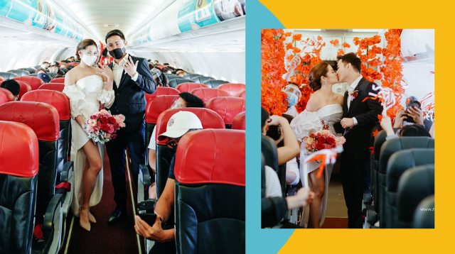 'We Thought It Was Impossible': How This Couple Pulled Off A Wedding On A Plane
