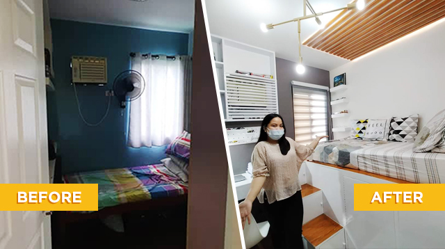 From Masikip To Maaliwalas! Teen's Tiny Bedroom Now Looks Bigger With A Few Upgrades