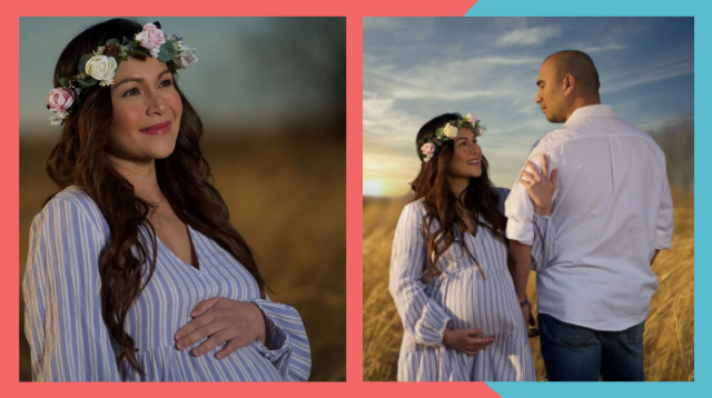 Maternity Photo Goals Ang Classy At Simpleng Shoot Ni Carol Banawa