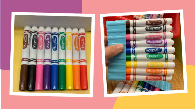 Try This Easy Hack So You Never Have To Lose The Caps Of Your Child's Markers Again