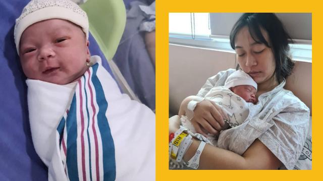 Everybody, Meet Sarina! Jhong Hilario Introduces Newborn Baby Girl