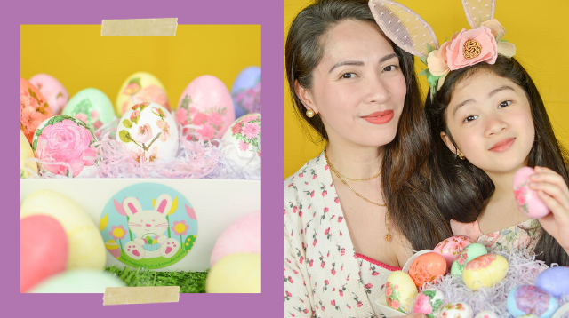Planning An Egg Hunt At Home? Try Making This Mom's Beautiful Easter Eggs!