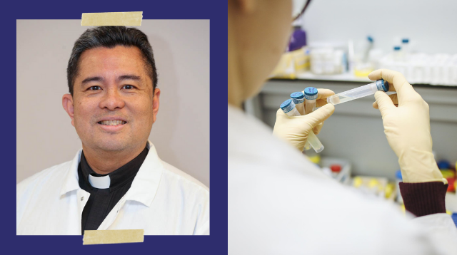 Look! This Pinoy Priest-Scientist Is Developing An Oral Vaccine For COVID-19
