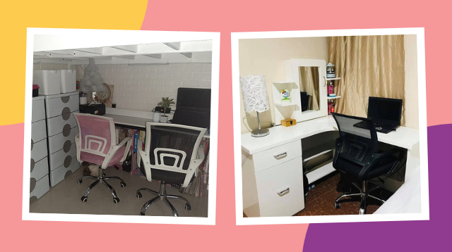 Moms Share How They Made Their Workstations Fit In A Small Space