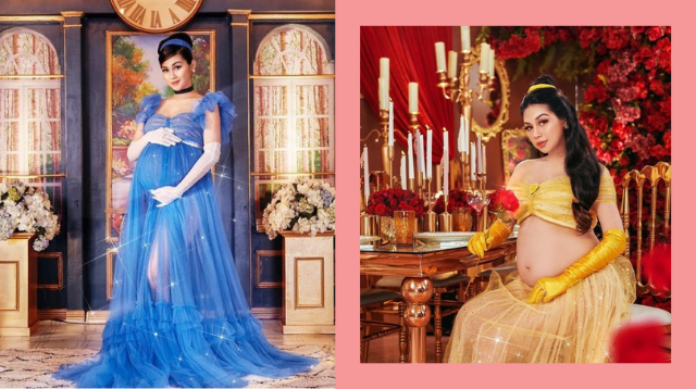 Ang Bongga Ng Disney Princess-Inspired Maternity Shoot Ni Zeinab Harake