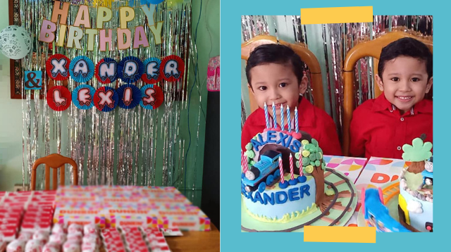 #ShareKoLang Mom Only Spent Less Than P200 On Food For The Birthday Party Of Her Twins!