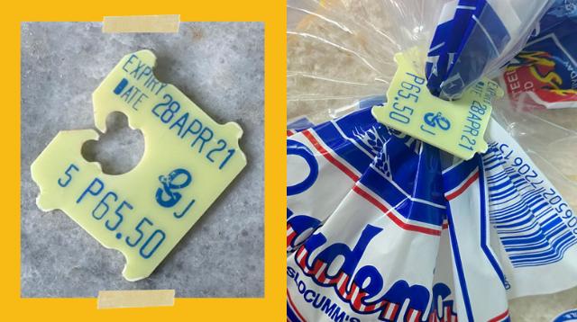 Gardenia's Bread Clips Actually Show More Than The Expiration Date
