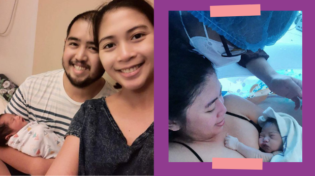 Mom Chose Water Birth So Hubby Can Join Her: 'I Can Endure Pain As Long As We're Together'