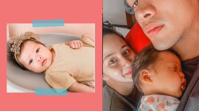 May GERD Pala Kaya 'Super Fussy' Ang Baby Nina Sophie Albert At Vin Abrenica