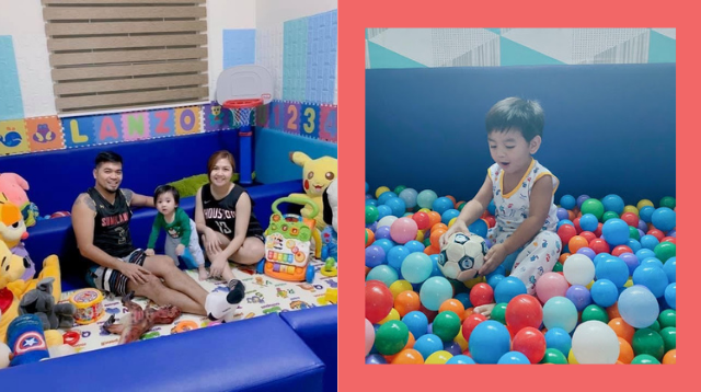 Look! Mom And Dad Builds Playroom With A Ball Pit To Lessen Their Child's Screen Time