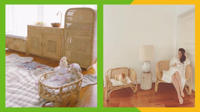 #TeamKahoy Ka Ba? Anne Curtis-Smith's Rattan Furniture Is Your Next Budol