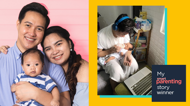Student Dad JC Lasam Of Cagayan Valley Goes Home With P100,000 For His Smart Parenting Story!