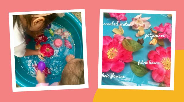 Magandang Pantanggal Boredom Itong DIY 'Flower Sensory Soup' Ni Mommy