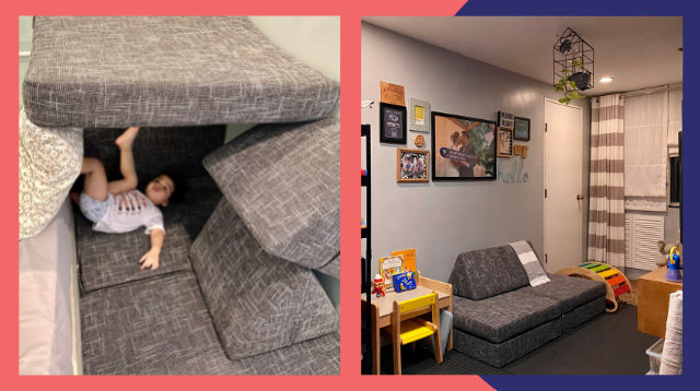 Goodbye Inip! This Interior Designer Mom's Toddler-Friendly Furniture Doubles As A Playground