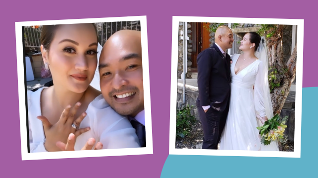 Melissa Ricks Marries The One 'I Prayed For' In California