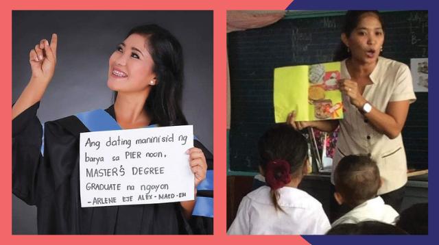 Dating Namamalimos Sa Kalsada At Naninisid Ng Barya Sa Pier, Teacher Na Ngayon!